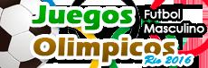 Logo Fútbol Varonil JO 2016