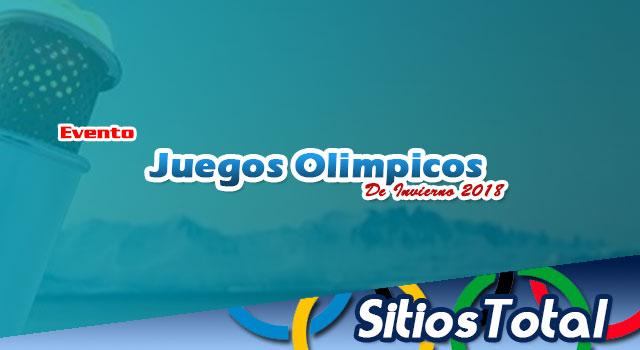Luge en Vivo – Juegos Olímpicos de Invierno 2018 – Lunes 12 de Febrero del 2018