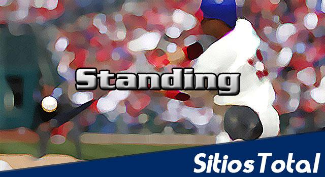 Standing de la Liga Mexicana de Beisbol (LMB) al termino de la primera vuelta