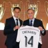 Presentación en Vivo de Chicharito con el Real Madrid