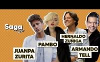 Juanpa Zurita, Pambo, Hernaldo Zúñiga y el mago Armando Tell en la Saga Live programa del Martes 18 de Septiembre del 2018 – Completo, Online y Gratis!