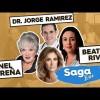 Anel, la escritora Beatriz Rivas y el Dr. Jorge Ramírez en la Saga Live programa del Jueves 7 de Junio del 2018 – Completo, Online y Gratis!