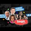 Benito Nacif, JNS y Jorge Medina en la Saga Live programa del Lunes 4 de Junio del 2018 – Completo, Online y Gratis!