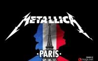 Metallica en Vivo en París Francia 2017 Online – Completo!