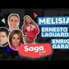 Ernesto Laguardia, Enrique Garay y Melisia la novia del Mundial en la Saga Live programa del Jueves 31 de Mayo del 2018 – Completo, Online y Gratis!