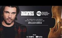 Concierto Virtual de Juanes & La Orquesta Filarmónica de Bogotá Online – Completo!