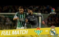 Repetición del Partido entre Real Betis vs Real Madrid de la LaLiga Temporada 2015/2016
