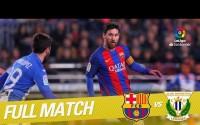 Repetición del Partido entre FC Barcelona vs CD Leganés de la LaLiga Temporada 2016/2017