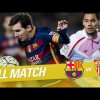 Repetición del Partido entre FC Barcelona vs Sevilla FC de la LaLiga Temporada 2015/2016