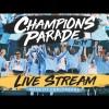 Manchester City Festejo por el Campeonato de la Liga Premier en Vivo – Lunes 20 de Mayo del 2019