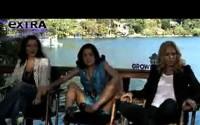 Video de Salma Hayek asustada por una serpiente en entrevista