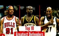 Top 10 defensas de la NBA de todos los tiempos