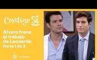 Resumen Contigo Sí – Capitulo 8 – Leonardo tiene un enfrentamiento con Álvaro