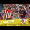 Repetición del Partido entre Athletic Club vs FC Barcelona de la LaLiga Temporada 2015/2016