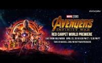 Alfombra Roja de Avengers: Infinity War en su Premier Mundial en Vivo – Lunes 23 de Abril del 2018