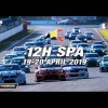 Hankook 12H SPA 2019 en Vivo – Viernes 19 de Abril del 2019