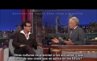 Entrevista a Johnny Depp con David Letterman (En Español)