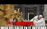Misa del Gallo 2020 desde el Vaticano con el Papa Francisco Online – Completo!