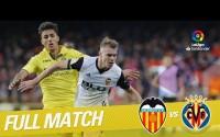 Repetición del Partido entre Valencia CF vs Villarreal CF de la LaLiga Temporada 2017/2018