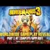 Revelación Mundial del Gameplay de Borderlands 3 en Vivo – Miércoles 1 de Mayo del 2019