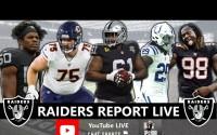 Raiders Rumors, Rodney Hudson & Kyle Long News – Las Vegas Raiders Report en Vivo – Martes 16 de Marzo del 2021