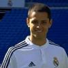 Fotos de la presentación de Chicharito con el Real Madrid