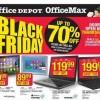 Ofertas de Office Depot y OfficeMax para el Viernes Negro 2015