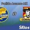 Dorados de Sinaloa vs Coras Tepic en Vivo – Online, Por TV, Radio en Linea, MxM – AP 2016 – Ascenso MX
