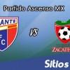 Atlante vs Mineros de Zacatecas en Vivo – Online, Por TV, Radio en Linea, MxM – AP 2016 – Ascenso MX