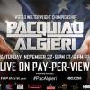 Manny Pacquiao vs Chris Algieri en Vivo – Sábado 22 de Noviembre del 2014