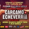 """Fernando """"El Guerrero Yaqui"""" Cárcamo vs Daniel """"Tocado"""" Echeverría en Vivo – Sábado 13 de Febrero del 2016"""