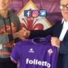 Salcedo fue presentado con la Fiorentina