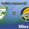 Zacatepec vs Dorados de Sinaloa en Vivo – Online, Por TV, Radio en Linea, MxM – AP 2016 – Ascenso MX