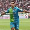 'Chicharito' Hernández, jugador del mes en la Bundesliga