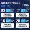 Partidos de los Rayados de Monterrey en la Concachampions 2016-2017