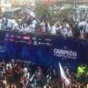 Pachuca celebra su campeonato por las calles