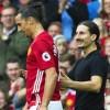 Zlatan Ibrahimovic encontró a su doble en partido del Manchester United