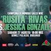 """Yazmín """"Rusita"""" Rivas vs Jessica """"La Magnifica"""" González en Vivo – Box – Sábado 27 de Agosto del 2016"""