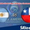 Final Argentina vs Chile en Vivo – Online, Por TV, Radio en Linea, MxM – Copa América Centenario