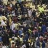 Aficionados de América asaltan y golpean a fan de Chivas