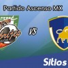 Alebrijes de Oaxaca vs Celaya en Vivo – Online, Por TV, Radio en Linea, MxM – AP 2016 – Ascenso MX