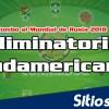 Partidos eliminatoria Conmebol de este Martes 17 de Noviembre del 2015