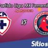 Ver Cruz Azul vs Veracruz en Vivo – Liga MX Femenil – Viernes 16 de Noviembre del 2018
