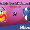 Ver Monarcas Morelia vs Monterrey en Vivo – Liga MX Femenil – Clausura 2019 – Domingo 20 de Enero del 2019