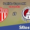 Necaxa vs Atlético San Luis en Vivo – Copa MX – Martes 19 de Febrero del 2019