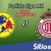 Ver América vs Toluca en Vivo – Partido de Vuelta – Cuartos de Final – Apertura 2018 de la Liga MX