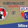 Xolos Tijuana vs Atlante en Vivo – Copa MX – Martes 15 de Enero del 2019