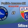 Ver Correcaminos vs Atlante en Vivo – Ascenso MX en su Torneo de Clausura 2019