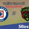 Cruz Azul vs FC Juarez en Vivo – Cuartos de Final – Copa MX – Martes 2 de Octubre del 2018