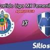 Ver Chivas vs Monterrey en Vivo – Liga MX Femenil – Lunes 15 de Octubre del 2018